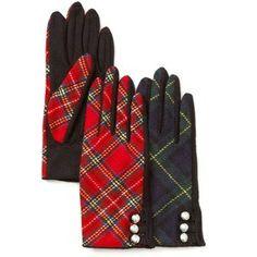 Ladies' Plaid Gloves