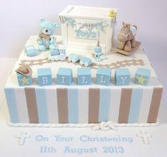 Beautiful baby cake