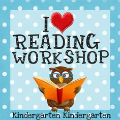 Love this post on reader's workshop in kindergarten.  Her K students read for 30-40 minutes by the end of the year!  Amazing!
