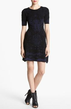 Leith 'Flounce' Drop Waist Dress available at #Nordstrom