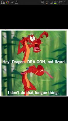 My absolute favorite line in Mulan :3