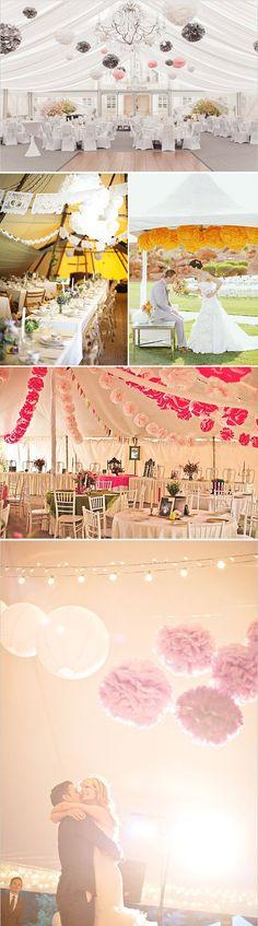 5 ideas para decorar la carpa el día de tu boda