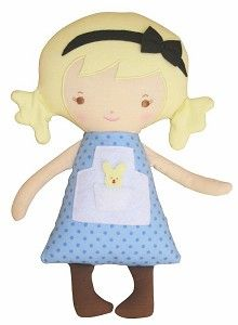 Alimrose alice small doll. Alice small doll, 29 cm. Suitable from birth.  NZD $ 39,00