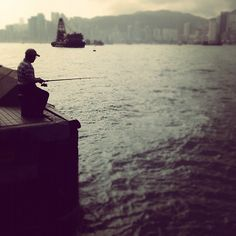 """26.05.2012. """"Good things come from those who bait"""" author unknown. Hong Kong"""