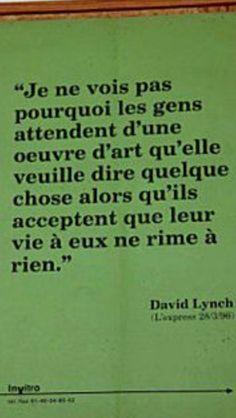 David Lynch- art