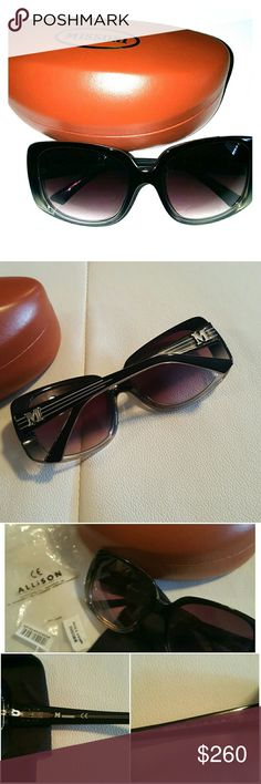 Authentic Missoni Glasses Oversised Grey glasses. Dark grey frames turn into a lighter clear grey at the bottom. No scrathes,like new! Very chic! Comes with case, cloth.  Missoni mm 52657 18 135 grey Missoni Accessories Glasses