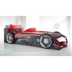 MRX Car Racer Novelty Bed Kiddicare.com