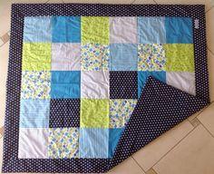 Babydecken - Patchworkdecke (120 cm x... - ein Designerstück von designGH bei DaWanda