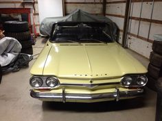 1964 corvair  spider convertible