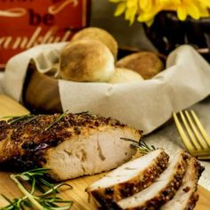 This low carb, high protein Air Fryer Rosemary Turkey Breast with Maple Mustard Glaze recipe! Air Fryer Recipes Chicken Breast, Air Fryer Dinner Recipes, Oven Recipes, Cooking Recipes, Healthy Recipes, Healthy Food, Small Air Fryer, Cooks Air Fryer, Best Air Fryers