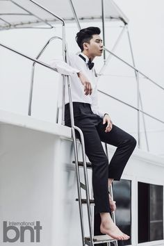 Park Seo Joon - bnt International October Issue '14