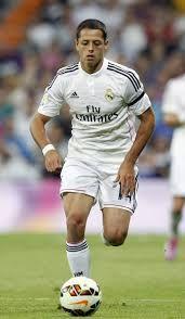 Chicharito of Real Madrid