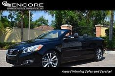 2011 Volvo C70 2dr Convertible Automatic W/Convenience Package 2011 Volvo C70 2dr Convertible Automatic W/Convenience Package 61825 Miles Blac