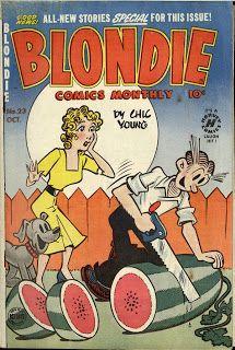 Old Comics world: Blondie