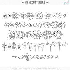 MTF Decorative Floral ·CU·