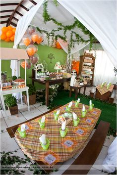 nature themed party