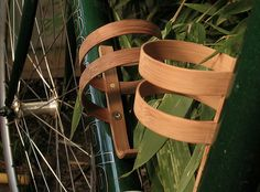 Bamboo Bottle Cage