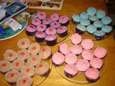 Queen's Jubilee cakes for school 2012.