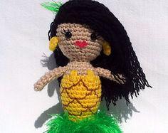 Manila Luzon Pineapple Crochet Amigurimi