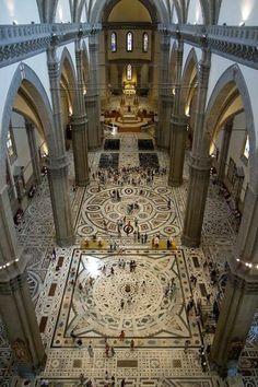 Catedral de Santa María del Fiore de Florencia Italia.