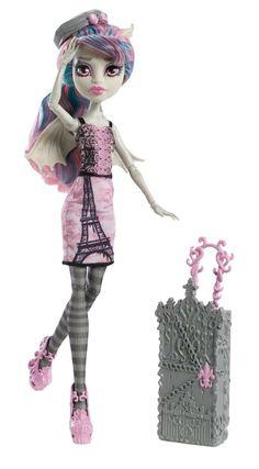 Pinterest: Rochelle Goyle Scaris, City of Fright Mattel Monster High doll. http://www.monsterhighcollector.com/viewstory.php?sid=142