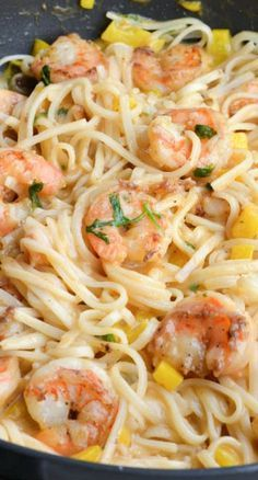 One Pan Coconut Shrimp & Noodles