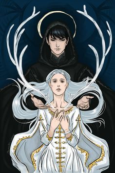 """phantomrin: """"Sankta & the Black Heretic (the Grisha trilogy by Leigh Bardugo) Amazing books, AMAZING!!! """" Well this is a literal holy wow"""