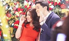 Alden Richards and Maine 'Yaya Dub' Mendoza, also known as the social phenomenal love team 'AlDub,' will be featured in the upcoming GMA-7 Christmas Station ID.