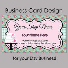 Business Card Design  Bakery Business Card  by MLDesignWorks, $15.00