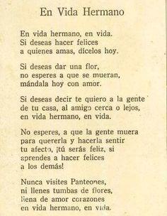 En Vida Hermano Poema Amado Nervo Www Imagenesmy Com