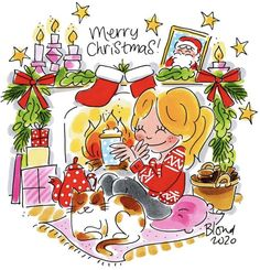 Blond Amsterdam, Bowser, December, Merry Christmas, Comics, Disney, Fictional Characters, Instagram, Christmas Cards