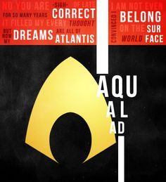 Young Justice Character Minimalists: Aqualad
