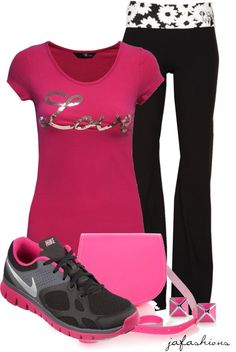 """""""Wednesday's Workout"""" by jafashions ❤ liked on Polyvore - mcloveinstyle"""