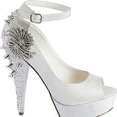 #Rockstar #White #Bride #Sparkly