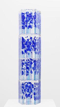 Säilä Oiva Toikka 2012 77 x 20 cm Hand blown glass GF 6148 Hand Blown Glass, Deco, Scandinavian, Glass Art, Pottery, Ceramics, Metal, Artist, Crafts