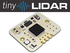 A Higher Performance, Arduino Compatible Time-of-Flight Sensor with Dedicated Micro | Check out 'tinyLiDAR: The Maker-Friendly Laser Sensor' on Indiegogo.