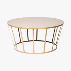 Table basse Hollo, Amandine Chhor & Aissa Logerot, or  - Petite Friture
