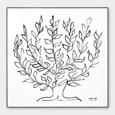 Henri Matisse: Le Platane Framed Print