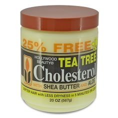 Hollywood Beauty Tea Tree Cholesterol with Shea Butter and Aloe 20 oz $3.49 Visit www.BarberSalon.com One stop shopping for Professional Barber Supplies, Salon Supplies, Hair & Wigs, Professional Product. GUARANTEE LOW PRICES!!! #barbersupply #barbersupplies #salonsupply #salonsupplies #beautysupply #beautysupplies #barber #salon #deals #sales #HollywoodBeauty #TeaTree #Cholesterol #SheaButter #Aloe Curly Hair Tips, Hair Care Tips, Natural Hair Care, Natural Hair Styles, Healthy Relaxed Hair, Healthy Hair, Hairdressing Supplies, Hair Regimen, Soft Hair