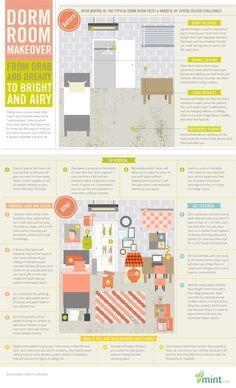 Dorm Room Ideas..Work what you got!