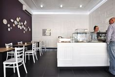 Bakery patisserie simplicity cafe interior inspiration
