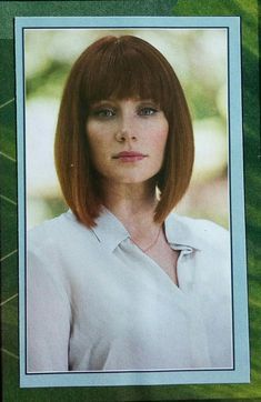 Bryce Dallas Howard as Claire Dearing in Jurassic World Jurassic World Claire, Jurassic Park World, Claire Dearing, Bryce Dallas Howard, Universal Pictures, Bob Hairstyles, Pretty Girls, Photo And Video, Artwork