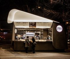 sprouts of hell kiosk / food truck | alain ducasse + christophe michalak | paris | via notcot.org