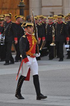 Guardia civil. Uniforme de gran gala. España
