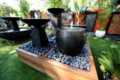 Finished Projects - Water Features Direct  this is one of my favorites.. oh to have a backyard that looks like this!!!