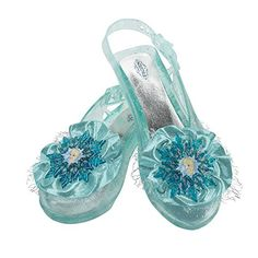 Disguise Disney's Frozen Elsa Shoes Girls Costume, One Size Child ** You can find out more details at the link of the image.