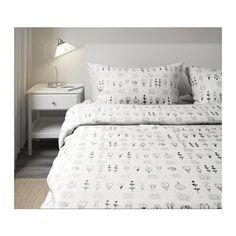 SISSELA Copripiumino e 2 federe - 240x220/50x80 cm - IKEA