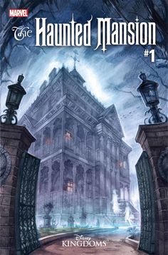 For Sale: The Haunted Mansion Promo comic book released by Marvel Comics for Halloween Comic Fest Art by Jorge Coelho, story by Joshua Williamson. Comic book in NM condition, unread copy. Buy in confidence from a long time comic book . Haunted Mansion Disney, Haunted Mansion Halloween, Disney Rides, Disney Parks, Walt Disney, Disney Theme, Disney Magic, Comic Book Halloween, Disney Halloween