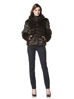 Betsey Johnson Women's Faux Fur Chubby at MYHABIT