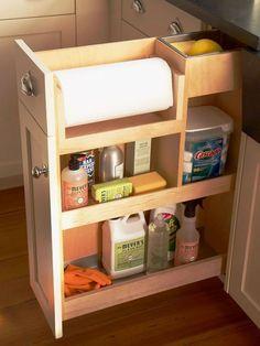 Cool 99 Inspiring Apartment Kitchen Organization Ideas. More at http://99homy.com/2018/02/28/99-inspiring-apartment-kitchen-organization-ideas/